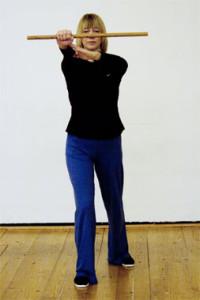 Tai-Chi-Stil Flöte