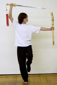 Tai-Chi-Stil Schwert